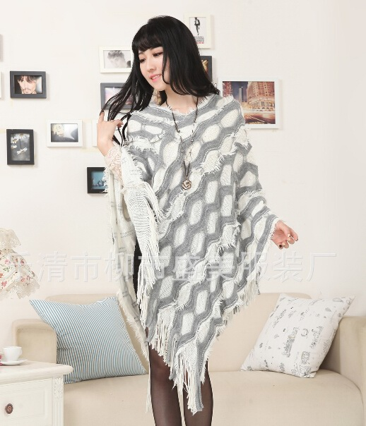 Big Size Ponchos For Women Dressing
